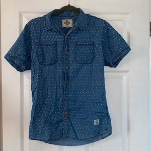 Bellfield Triangle Denim Shirt